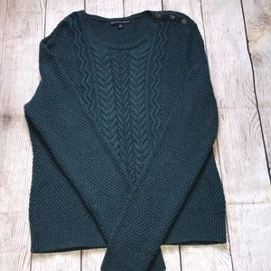 Gorgeous Brooks Brothers Cable Sweat